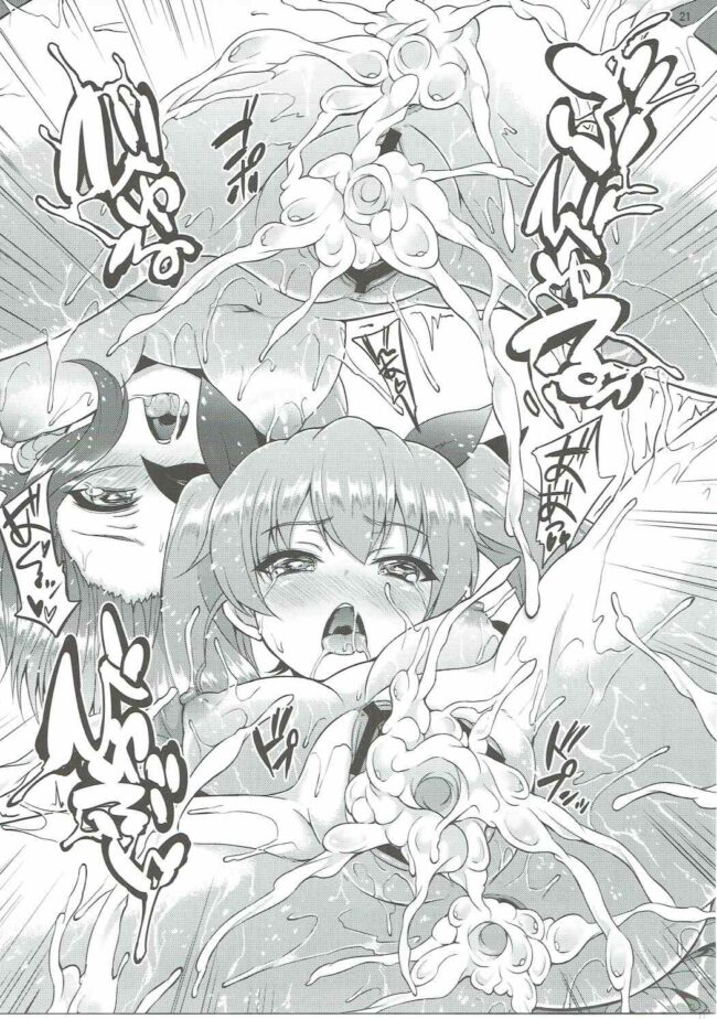 【ガルパン エロ漫画・エロ同人】西住まほとアンチョビがマンコとアナル2穴同時ファックされて乱交セックスなうwwww