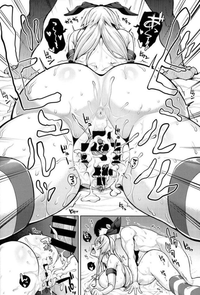 【エロ同人誌 艦これ】ひょんな事から急に大人になってしまった島風さんと一緒に居続けるとこうなる【無料 エロ漫画】 (15)
