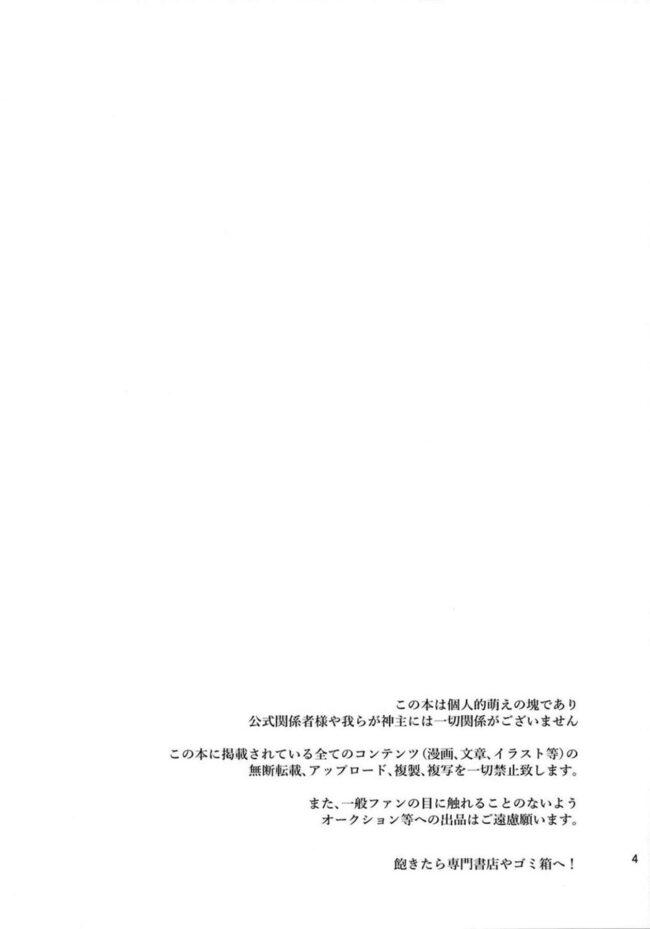 【エロ同人誌 東方】私の事が大好きな博麗の巫女【無料 エロ漫画】 (3)