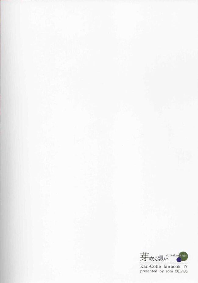 【エロ同人誌 艦これ】芽吹く想い【無料 エロ漫画】 (34)